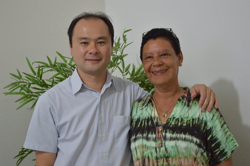 Eduardo Yamaya e Sandra Aparecida Rodrigues