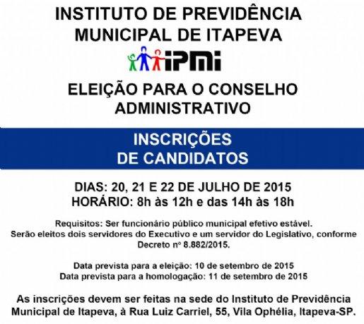 IPMI abrirá inscrições para eleição do Conselho Administrativo
