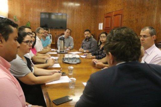 Em reunião na Prefeitura, IPMI apresenta seus conselheiros