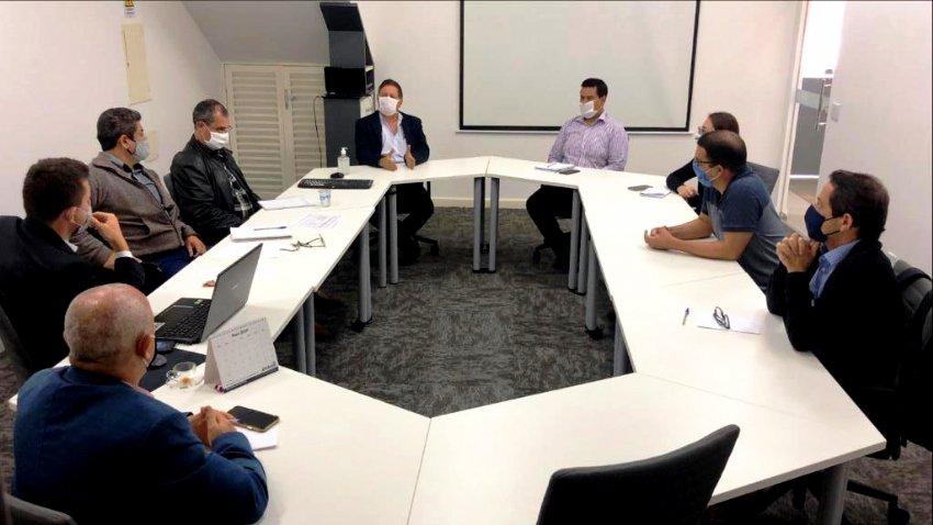 A reunião foi realizada na sede do IPMI