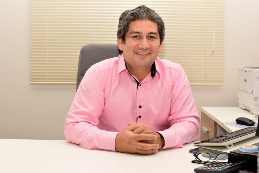 O superintendente do IPMI Edgar Endo